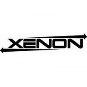 Xenon  лепенка , състезателна за автомобил, тунинг стикер, лого