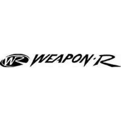 Weapon R лепенка , състезателна за автомобил, тунинг стикер, лого