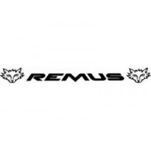 REMUS лепенка , състезателна за автомобил, тунинг стикер, лого