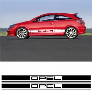 Дизайнерски стикер за автомобили от марката Опел Комплект 2 броя