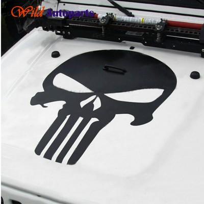 The Punisher  стикер за преден капак