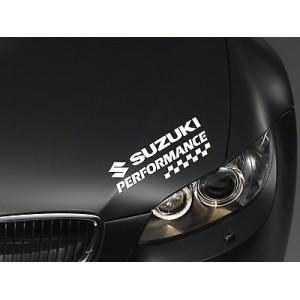 Стикер Performance Suzuki за преден фар