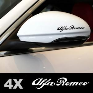 Alfa romeo стикер за странични огледала 4 бр
