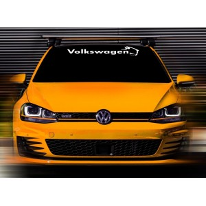 Нов стикер за предно или задно стъкло VW