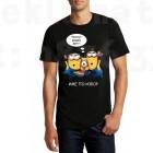 Забавна тениска за подарък Minions Честит Рожден ден