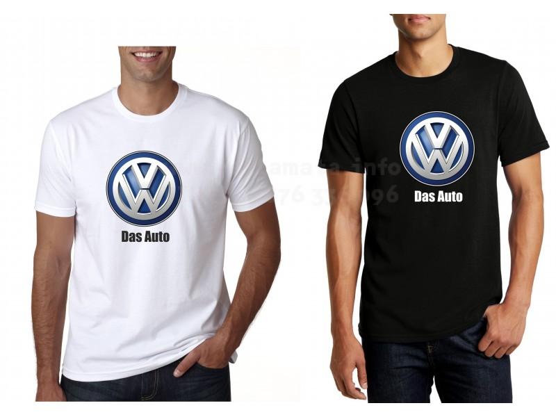 Забавна тениска за подарък Das Auto VW