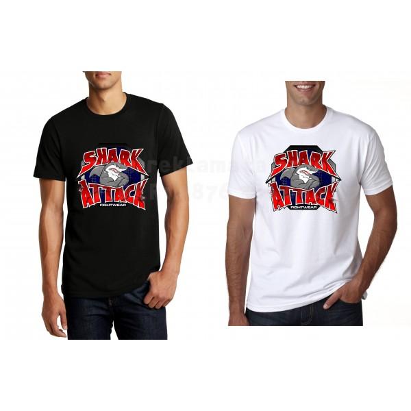 Забавна тениска Sharck Attack