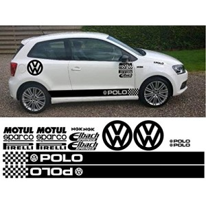 Сет от стикери за Volkswagen Polo