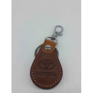 Ключодържател,светла кожа за Toyota, Тойота