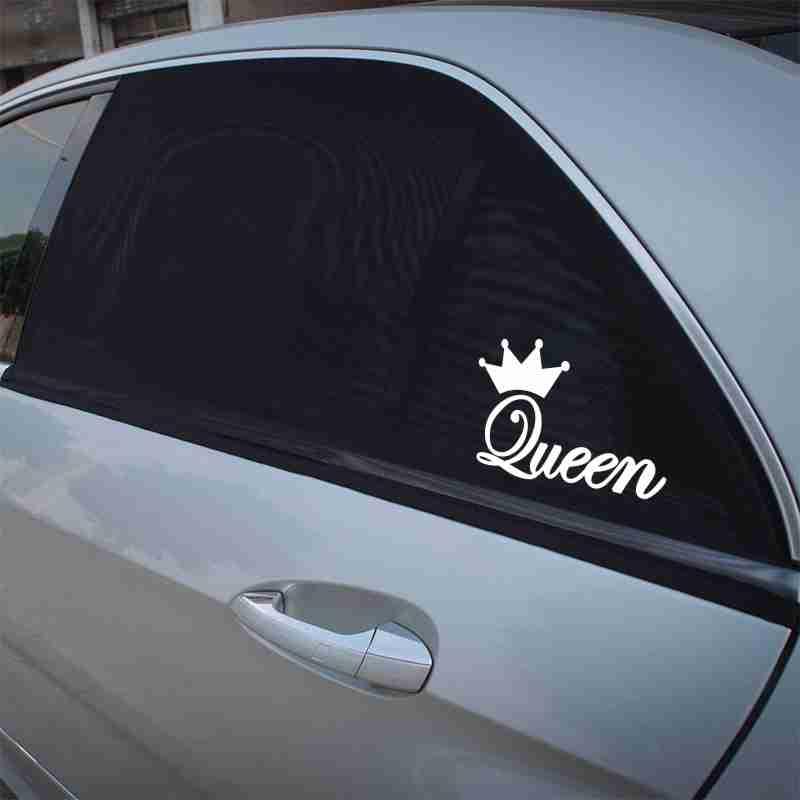 Стикер за кола Queen. Стикер за Кралици!