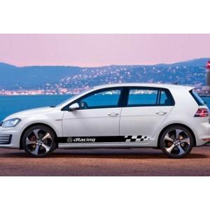 Стикер Сет За VW Racing