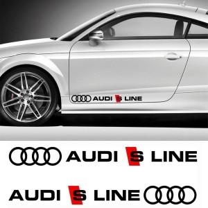 Сет от стикери AUDI S LINE MOTOR SPORTS