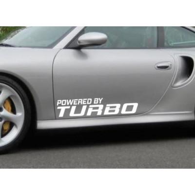 Powered by Turbo стикер за автомобил