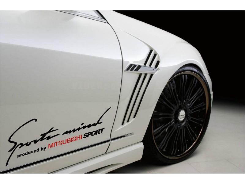 Sport mind Mitsubishi  два броя стикера