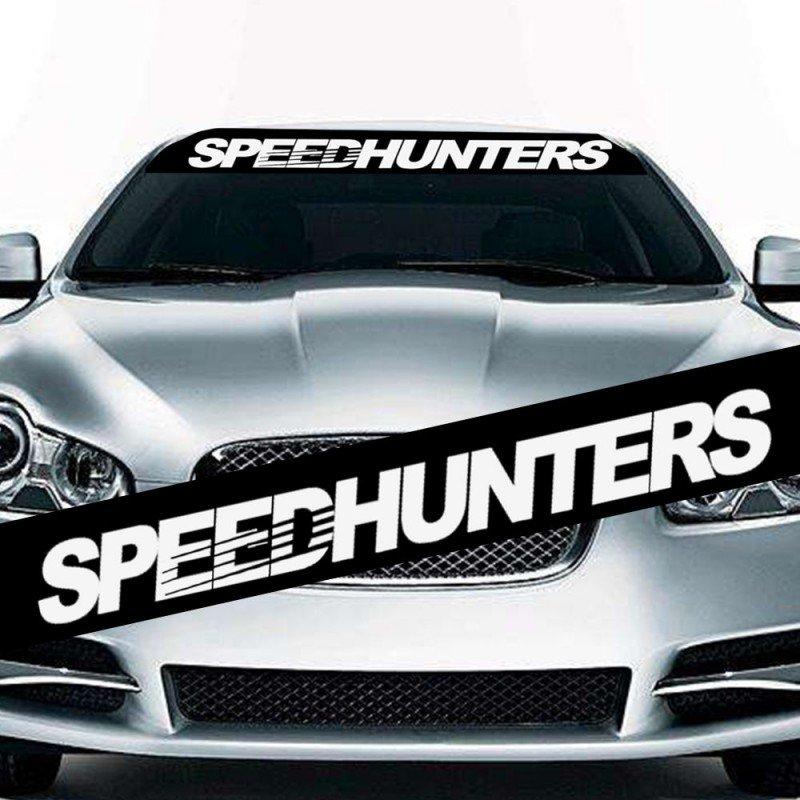 Speedhunters  сенник за предно стъкло.