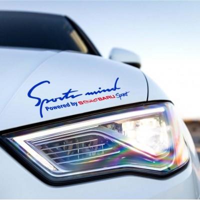 Sport mind стикер Subaru