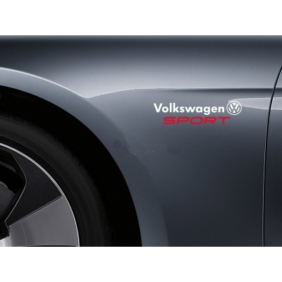 Винилов стикер Volkswagen Sport 2 броя