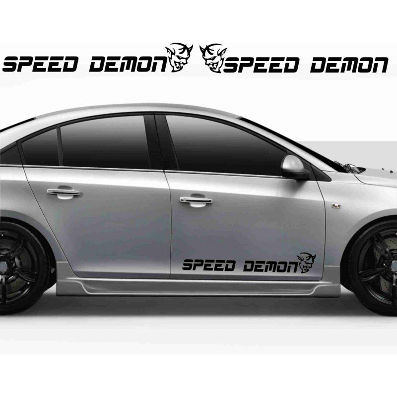 Стикер Speed Demon 2 броя