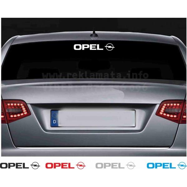 Стикер за задно стъкло Опел модел 2
