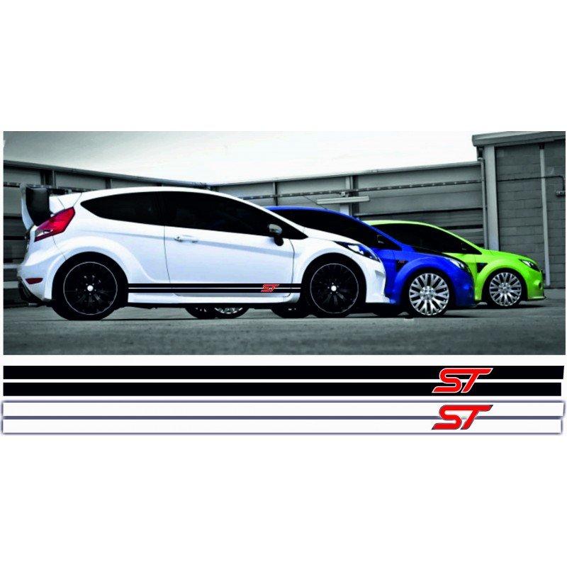 Състезателни ленти 2 броя за форд с лого ST