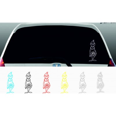 Гринч с лого на VW