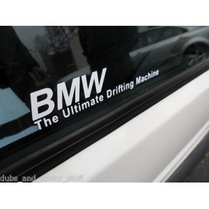 Стикер BMW Ultimate drifting machine