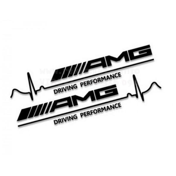 AMG стикери 2 броя driving performance