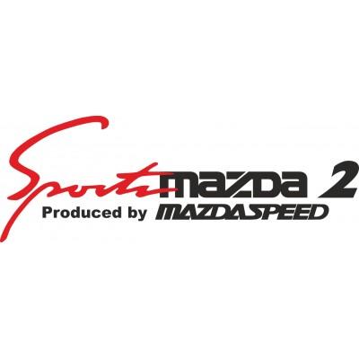 Sport mind Mazda 2 Стикер