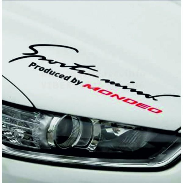 Стикер за автомобил за Форд Мондео Sport mind Mondeo