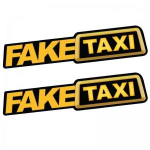 Fake Taxi 2 броя стикера