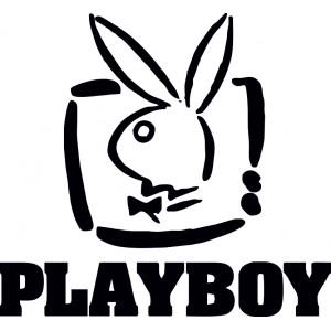 Стикер Плейбой Playboy