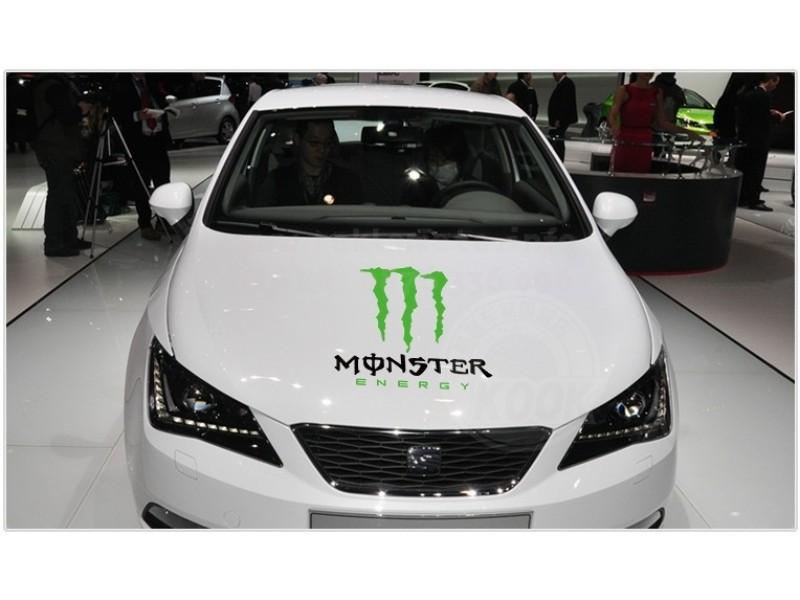 Стикер за преден капак Монстер Monster Energy