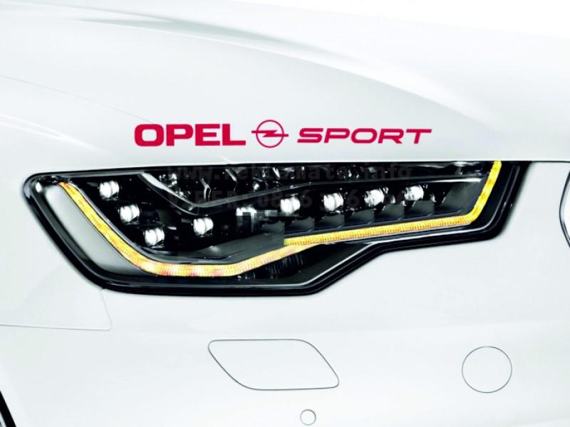 Тунинг стикер за опел спорт  Opel Sport