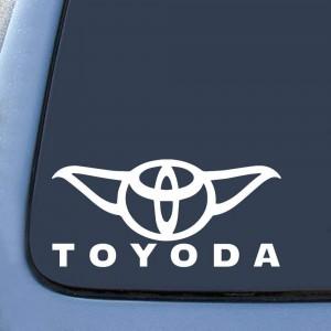Стикер TOYODA за автомобили от марката Тойота