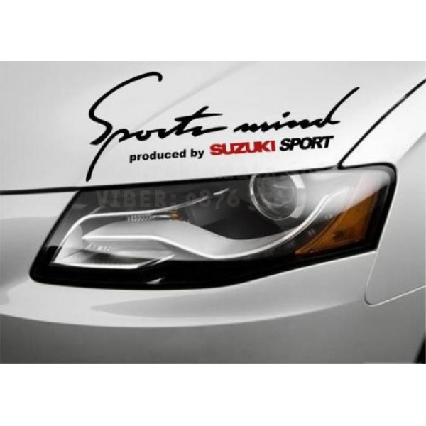 Sport mind Suzuki стикер за кола