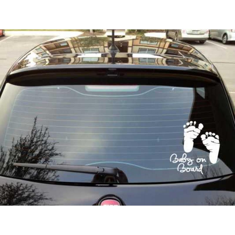 Стикери Бебе в колата
