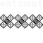 Три броя стикери тип лепенка с лого