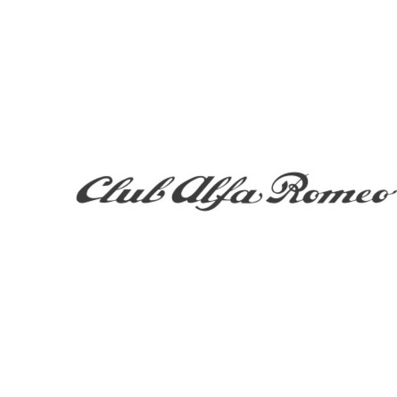Стикер за Алфа Ромео Клуб Алфа Ромео / Alfa Romeo Club