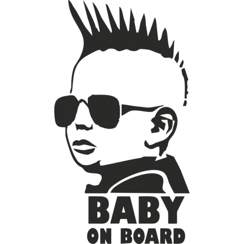 Пънк Бебе в колата