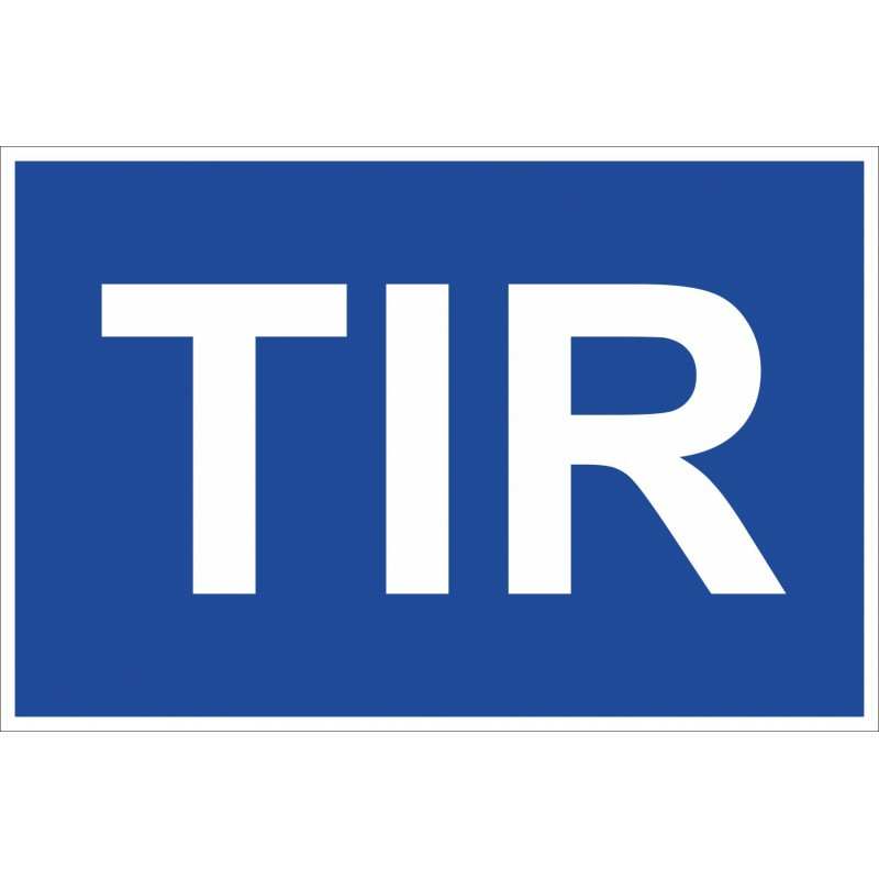 Стикер за камион ТИР