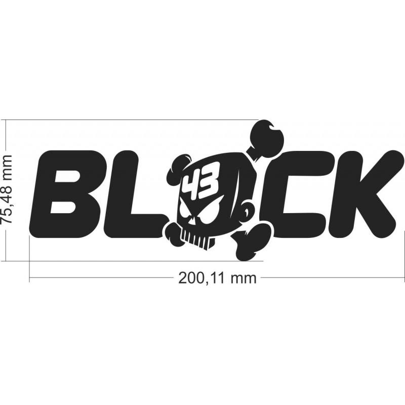 Кен Блок, Ken Block, стикер , лепенка за кола, автомобил, мотор, скутер
