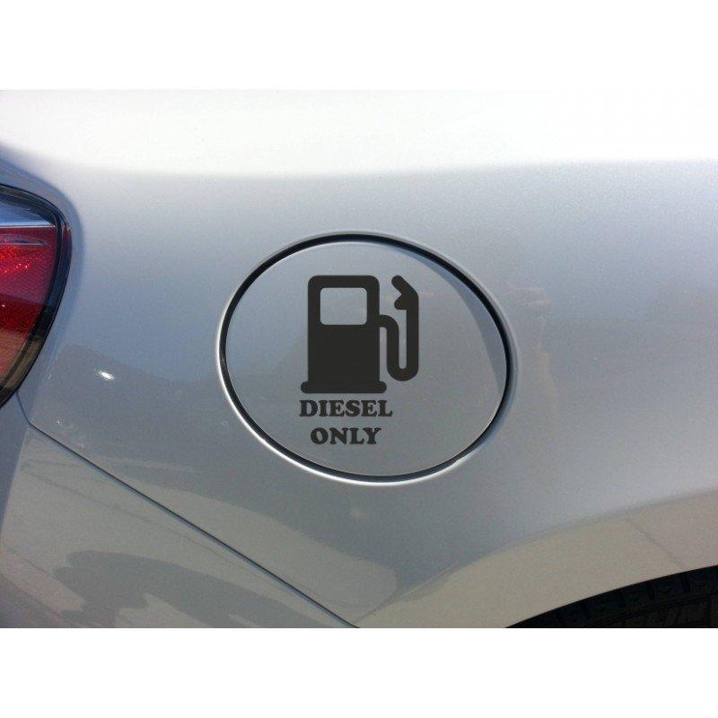 Стикер за капачка на кола Само Дизел