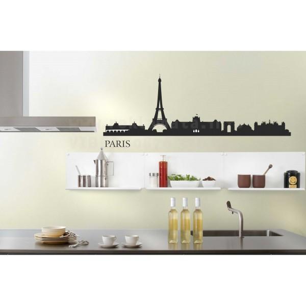 Стикер за стена Париж